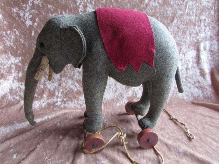 olifant steiff wielen pluche