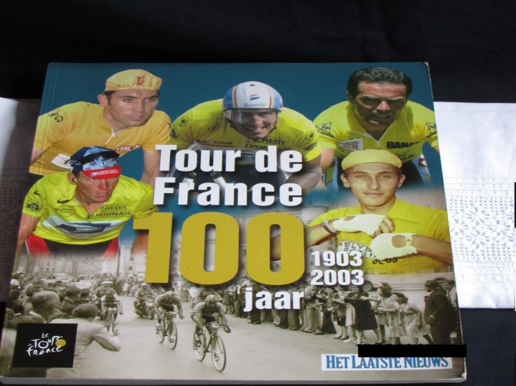 tour france 100 jaar wielrennen merckx