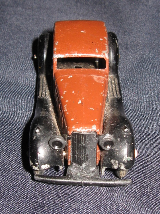 dinky toy toys humber vogue 36c