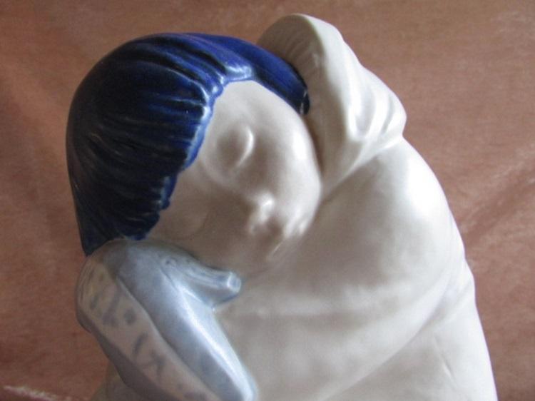 Lladro eskimo spanje slapend jongen huerta