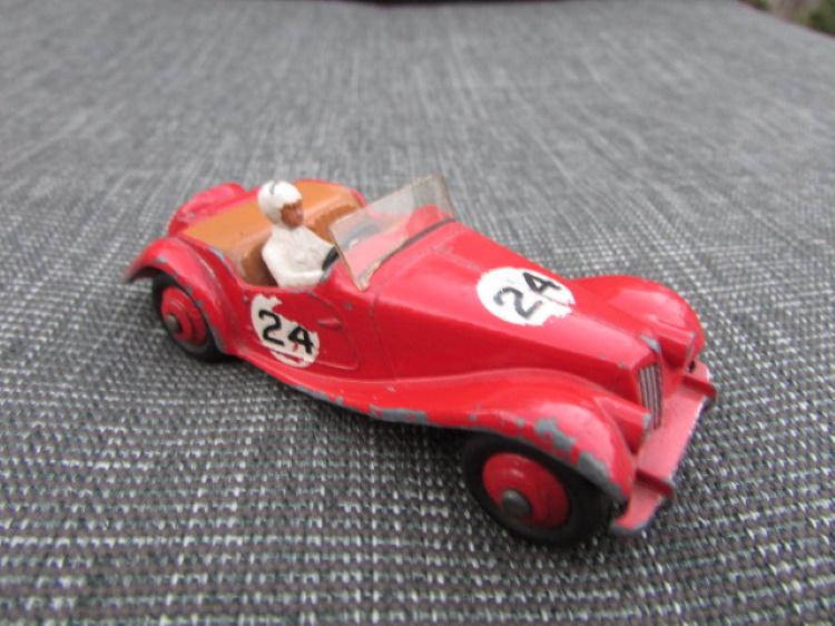 dinky toy 36e salmson rood Dinky Salmson