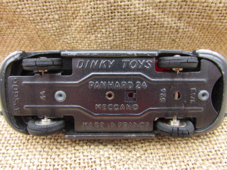 dinky toy meccano panhard france vintage curiosa modelauto