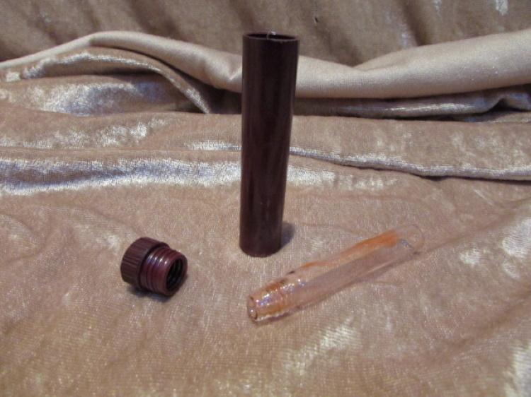 bakeliet bloed jodium buisje laboratorium